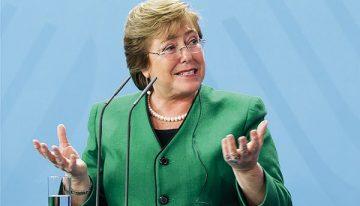 O labirinto de Bachelet