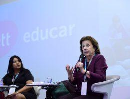 Escolas já devem começar a discutir novo ensino médio e fazer adaptações à nova lei, defende Sylvia Gouvêa