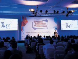 Grande Encontro da Educação: evento ofereceu painel variado de temas que devem estar no radar dos gestores escolares