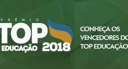 Saiba quem são os vencedores do prêmio TOP Educação 2018