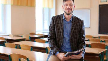 Nas salas de aula