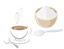 A colher do açúcar e a colher do café