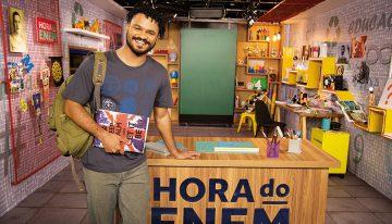 'Hora do Enem' é líder de audiência em canal de TV