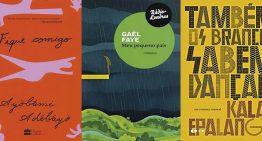 Três romances de autores africanos recentemente publicados no Brasil