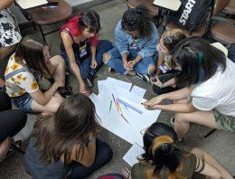 Maratona estimula jovens a pensar soluções para a igualdade de gênero e o empoderamento feminino