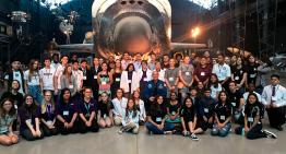 Pesquisa de alunos do ensino médio chega ao espaço