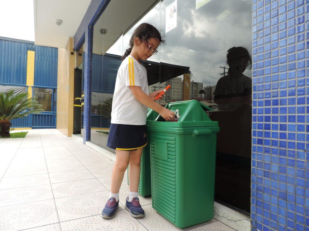escola reciclagem