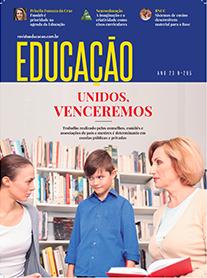 capa revista Educação março 2020