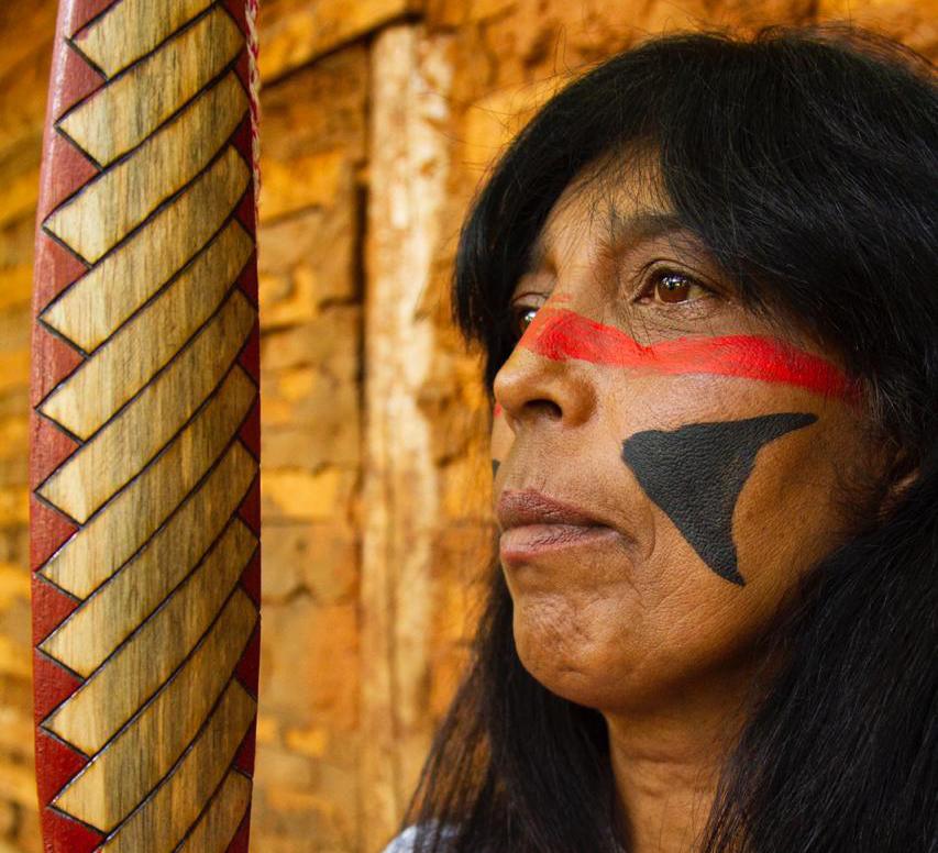 mulheres indígenas da luta