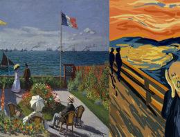 Os impressionistas, os expressionistas e as apreensões