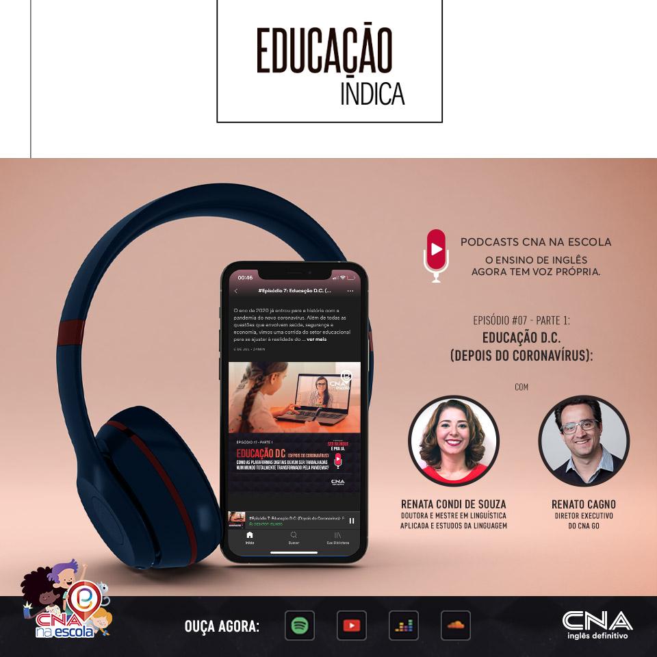 podcast educação CNA na Escola