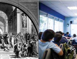 Educação: tradição e ruptura num mesmo lugar