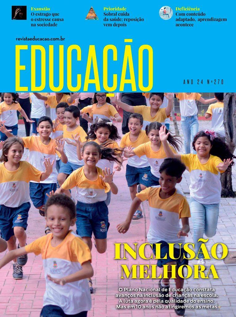revista Educação inclusão PNE