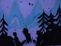 O céu pelo olhar de crianças e adolescentes indígenas