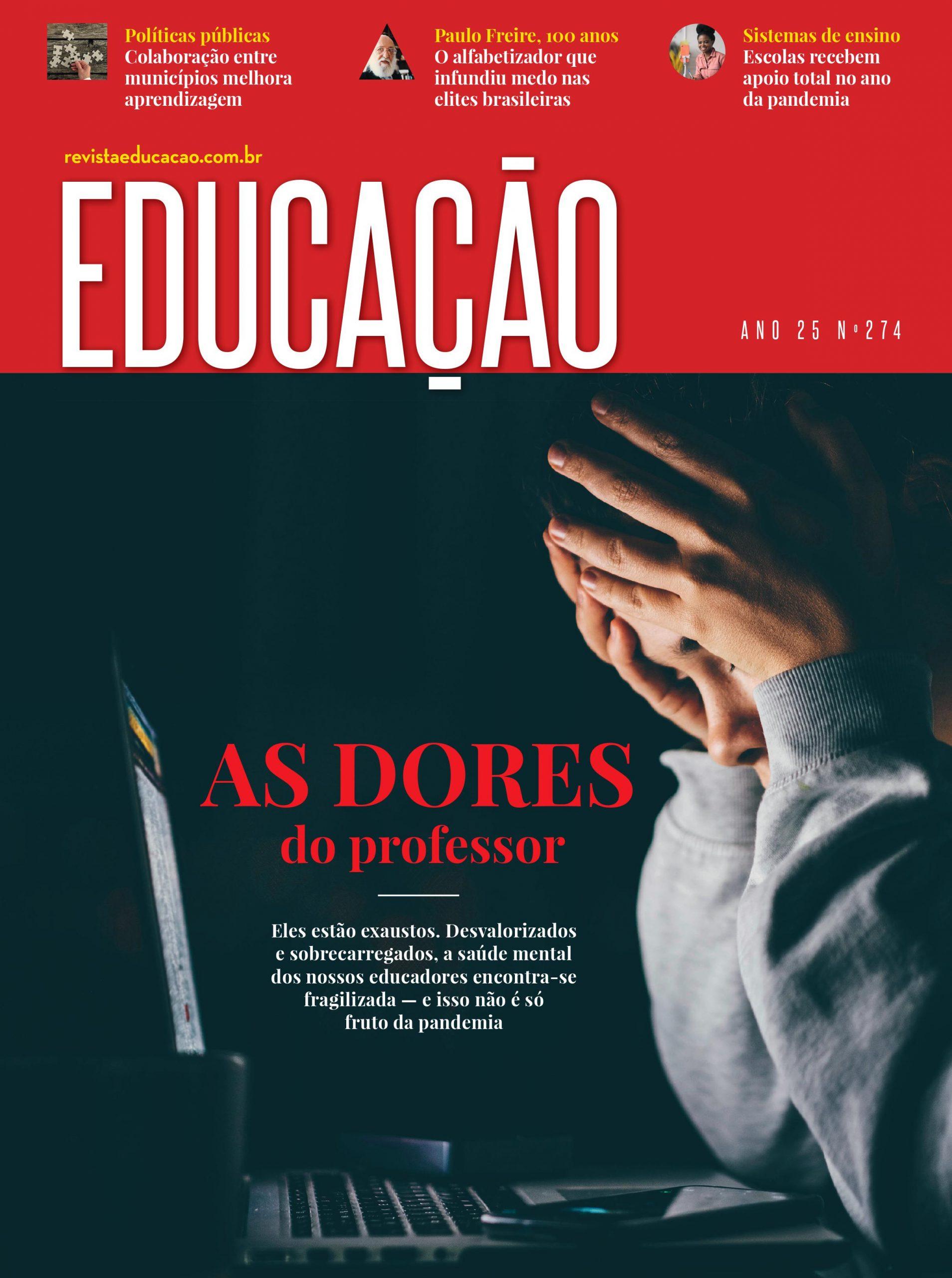 capa revista Educação 274