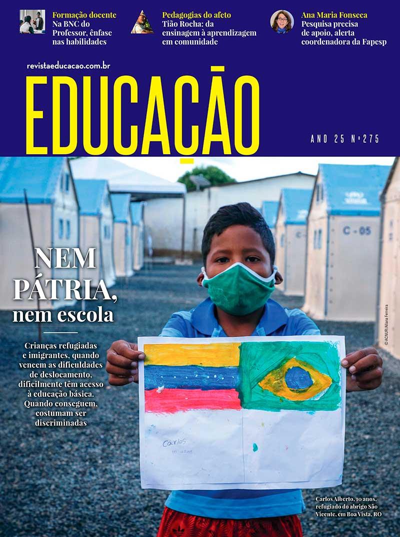 capa revista Educação 275