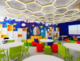 Importância do design de interiores e tecnologia em ambientes educacionais