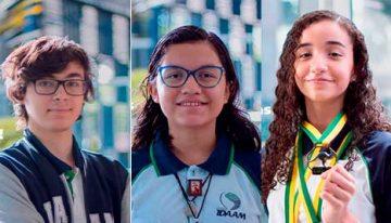 Estudantes de Manaus ganham mais de 10 medalhas em Olimpíada Internacional de Matemática