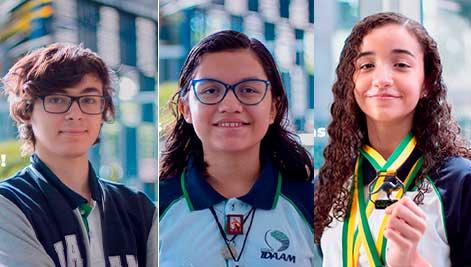 alunos olimpíada