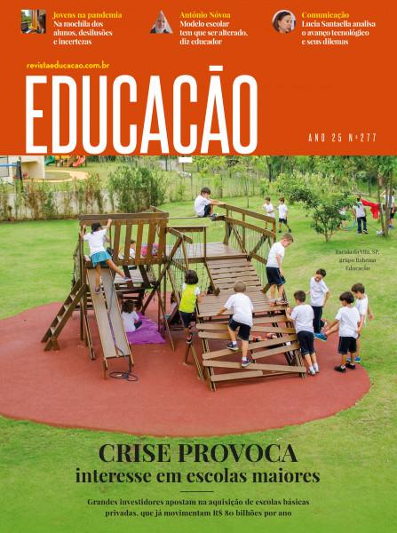capa revista Educação 277