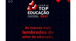 Conheça os vencedores do Prêmio Top Educação 2021