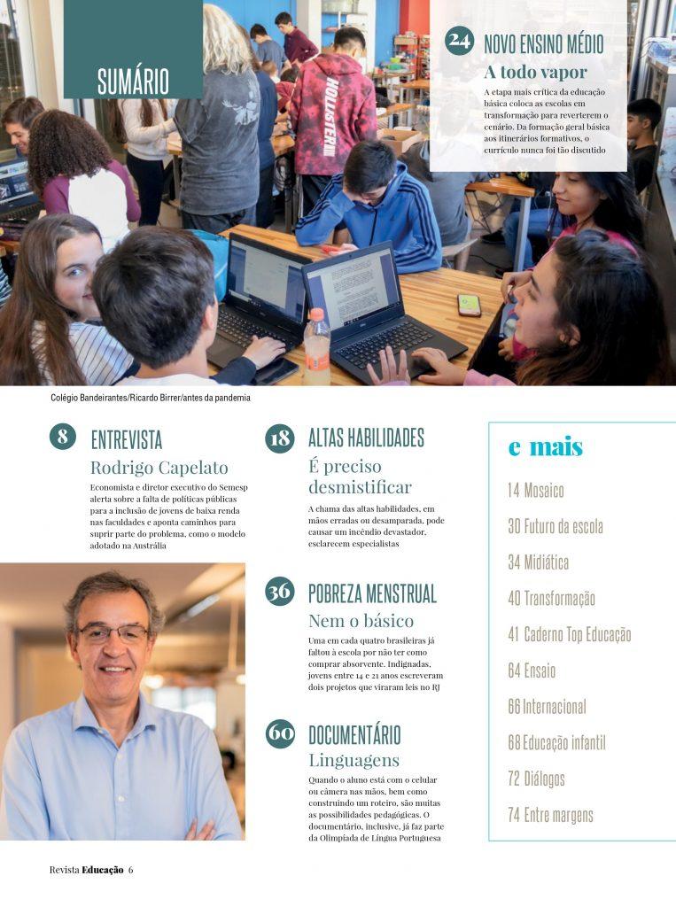 revista Educação outubro
